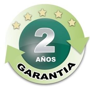 2 años de Garantía en uso residencial de la maquinaria residencial TORO