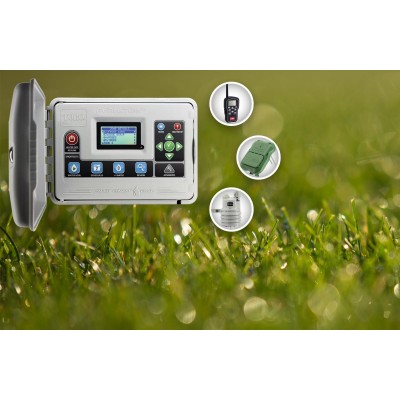 Irrigation controller TORO Evolution, sensors and remote control