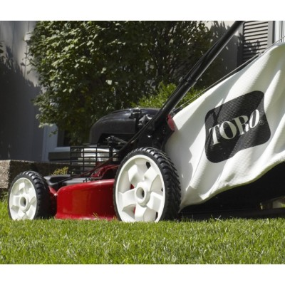 TORO 550 C REC SMART STOW Recycler - Mower and a gasoline - high rear Wheels