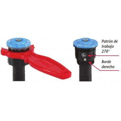 Chave de ajuste para bico Precision Rotating