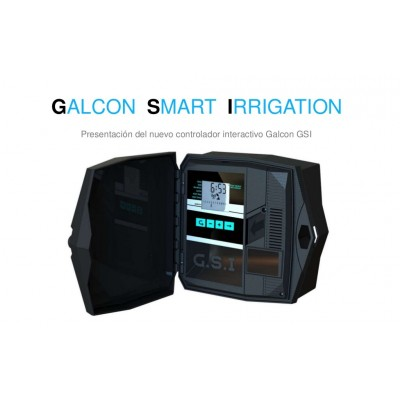 Programmer Galcon GSI of 8 stations with GPRS modem built-in