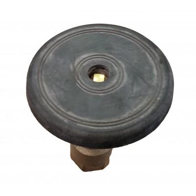 """Válvula de acoplamiento rápido 1"""" tapa de goma"""