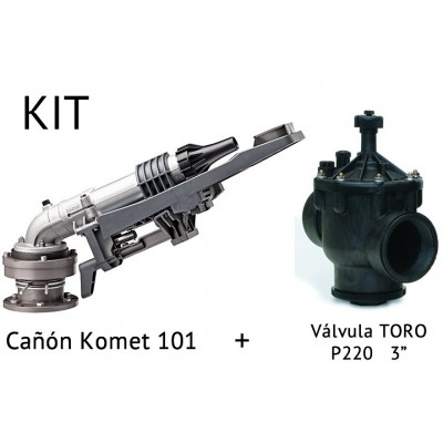 Kit Canyon irrigation KOMET 101 + Valve P220 3""