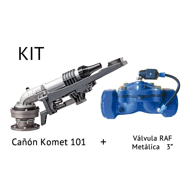 """Kit de Canyon irrigation KOMET 101 + Valve en Métal RAF 3"""""""
