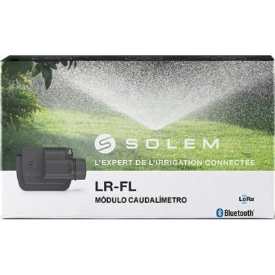 Leitor de vazão a pilhas LR-FL - LoRa Solem