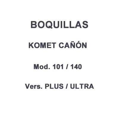 Boquilla cañón riego Komet 101 - 140