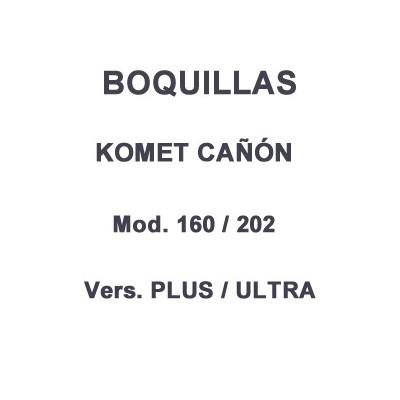 Boquilla cañón riego Komet 160 - 202