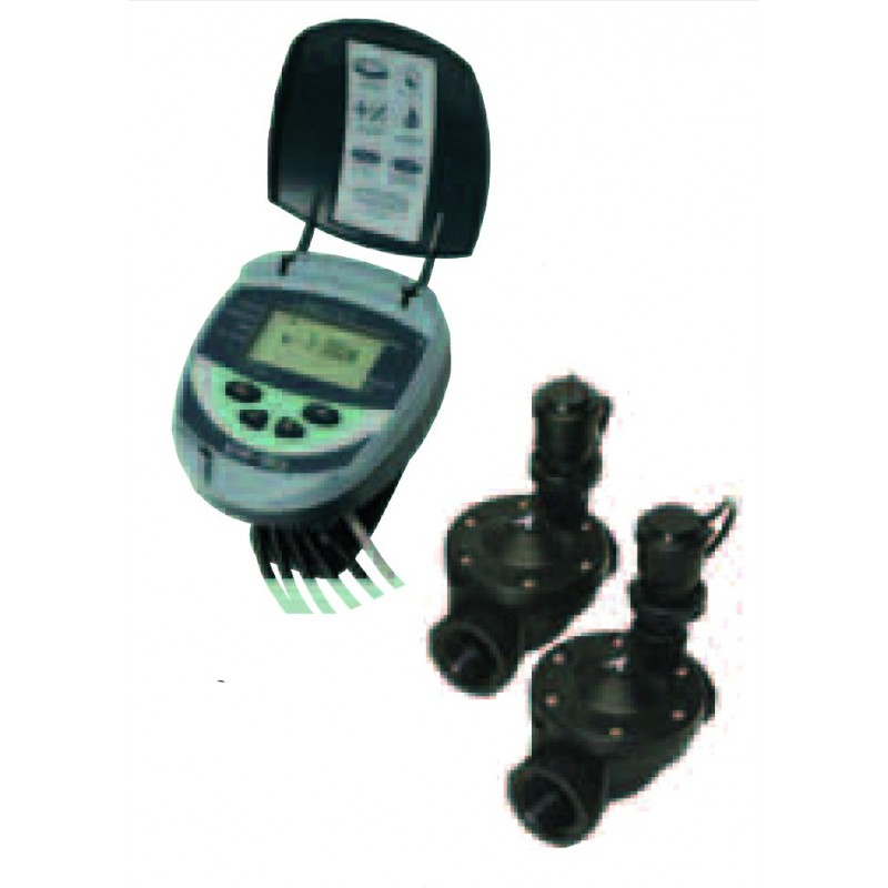 Kit GALCON DC4 (programmer and irrigation 2 solenoid valves)