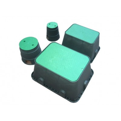 Valve boxes for irrigation U. E.