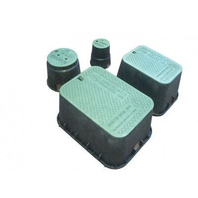 Valve boxes for irrigation USES