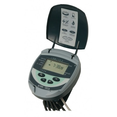 Programmer irrigation GALCON DC of 4 seasons and 18V