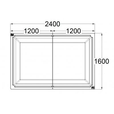 Super Huerto 2400 Simple
