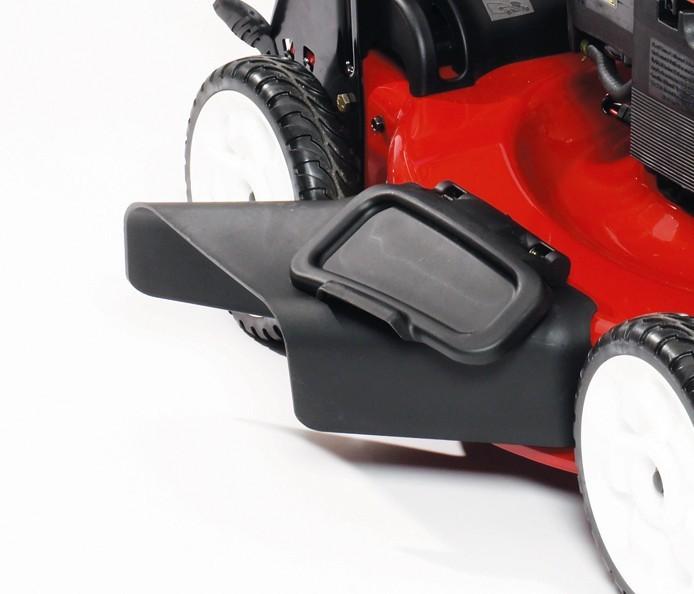 Bolsa trasera y conducto de descarga lateral del cortacésped de gasolina TORO 550 C REC Multicycler