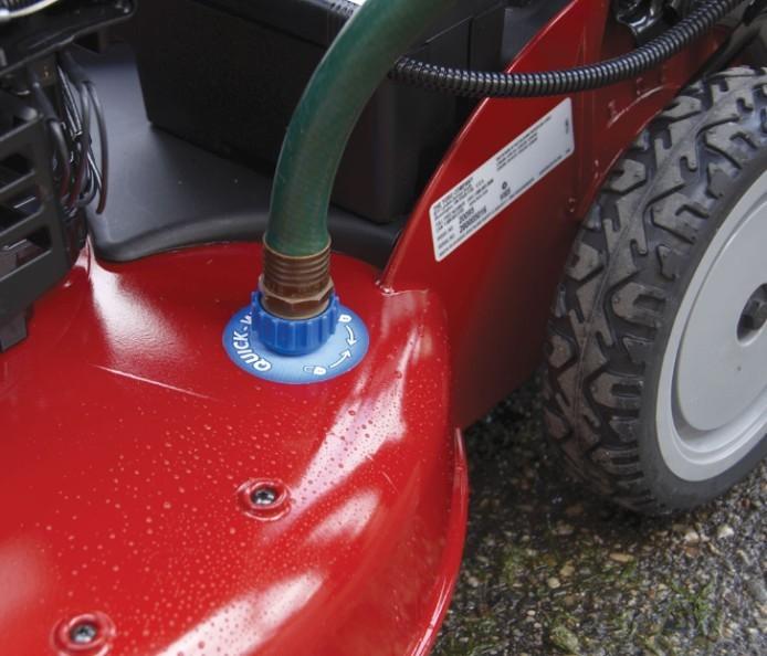 Conector de lavado del cortacésped de gasolina TORO 550 C REC Multicycler