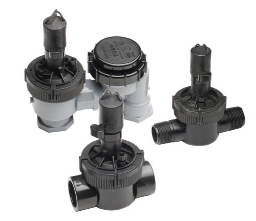 Válvula TORO eléctrica EZ-PLO Plus, modelos antisifónicos y en línea
