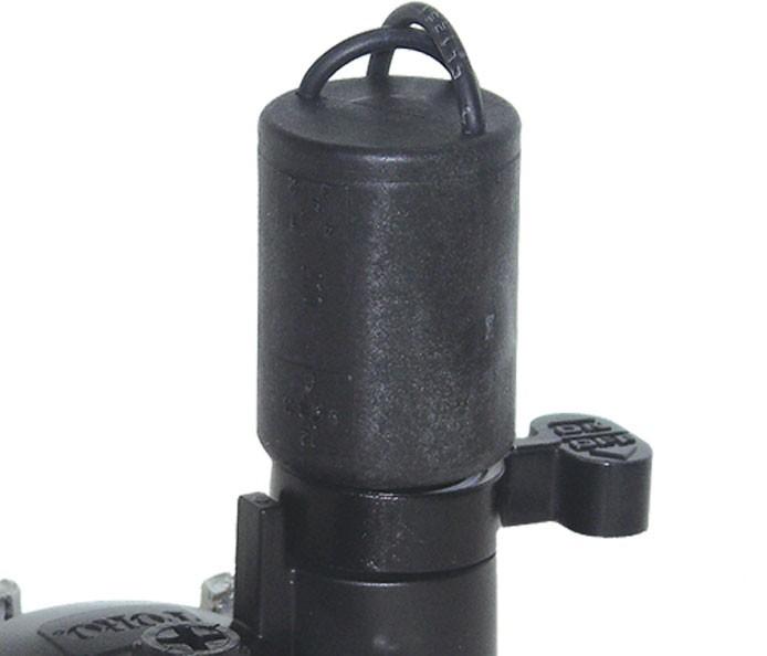 Válvula TORO TPV eléctrica, solenoide de diseño robusto
