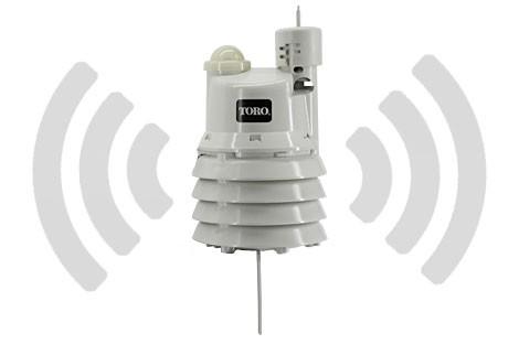 Sensor de lluvia ET inalámbrico para programador TORO Evolution