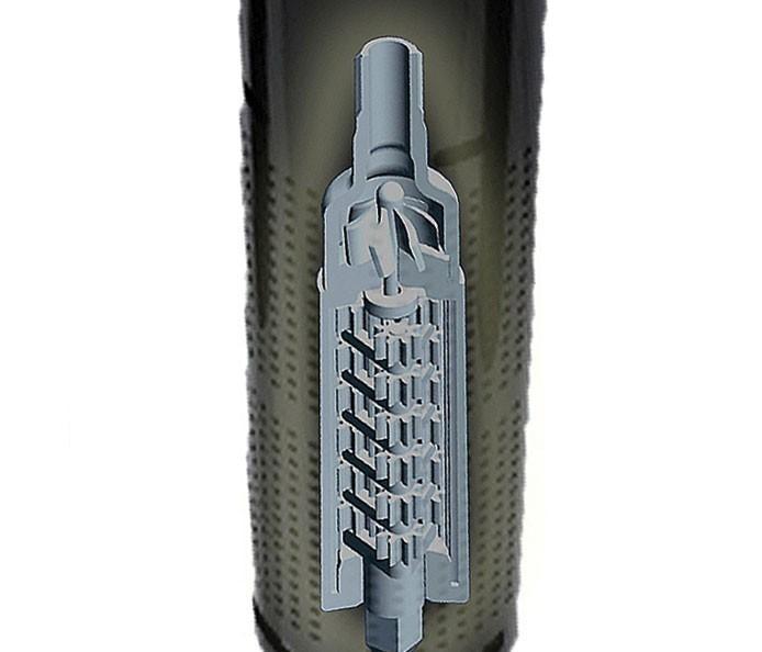 Accionada por engranajes la boquilla TORO Precision Rotating para difusor 570