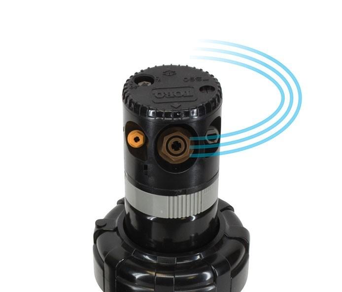Propulsión de velocidad constante del aspersor TS90 TORO Mini Grillo