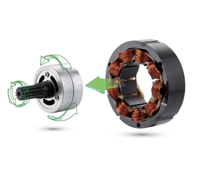 Motor de corriente continua sin escobillas de la motosierra TORO 40V
