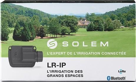 Programador de riego Bluetooth a pilar LR-IP de SOLEM