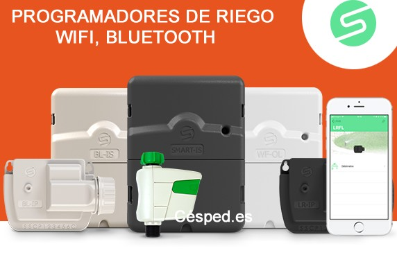 Programador de riego WiFi y Bluetooth SMART-IS de SOLEM