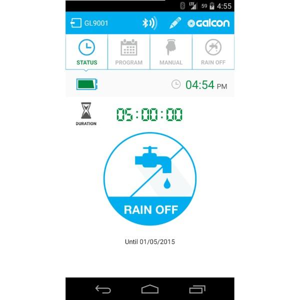 Programador de riego Bluetooth 11000BT de Galcon