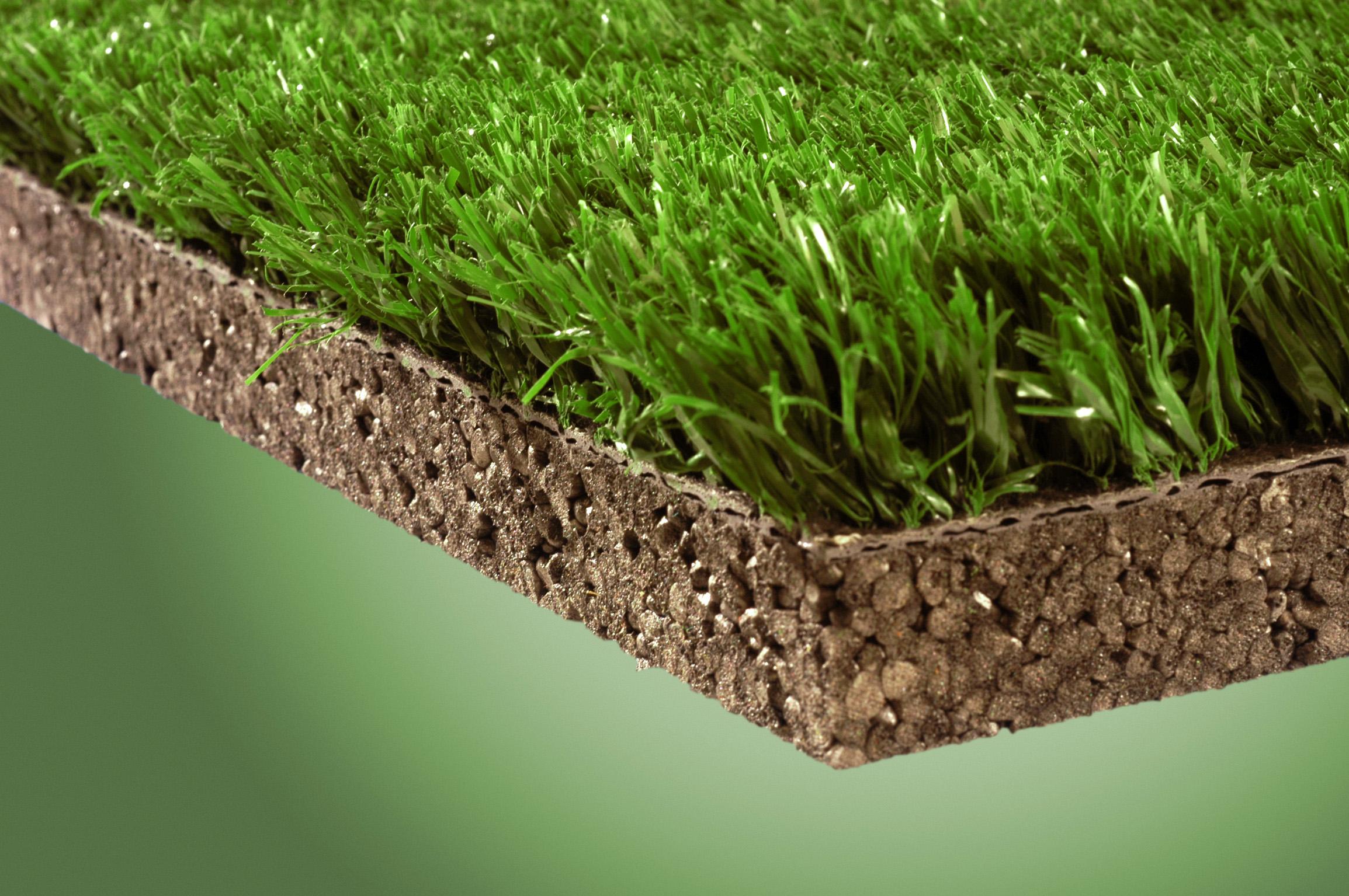Neopolen p el nuevo soporte para c sped artificial de for Como plantar cesped natural