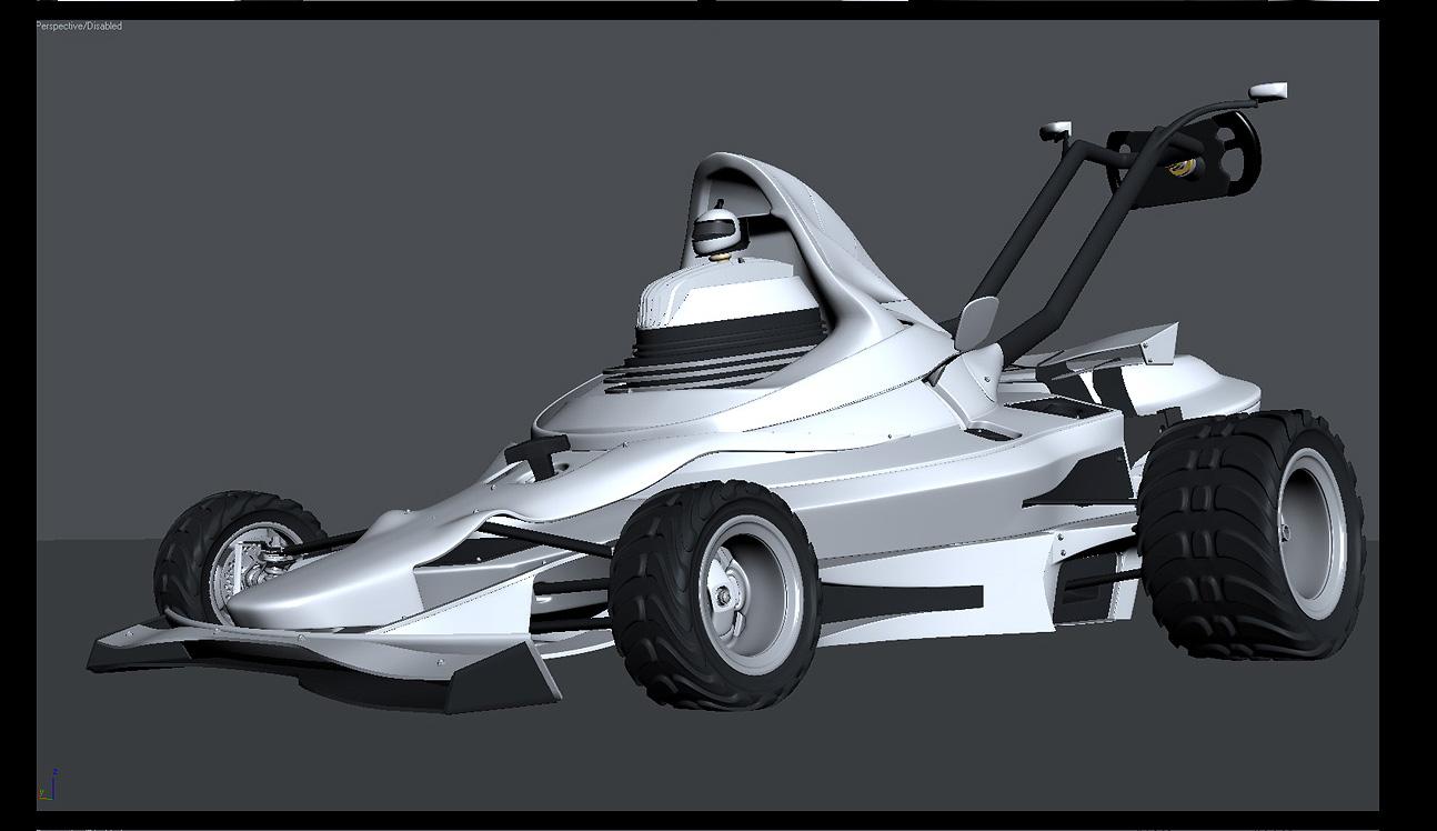 Cortacésped F1, siega como Schumacher - Imagen 10