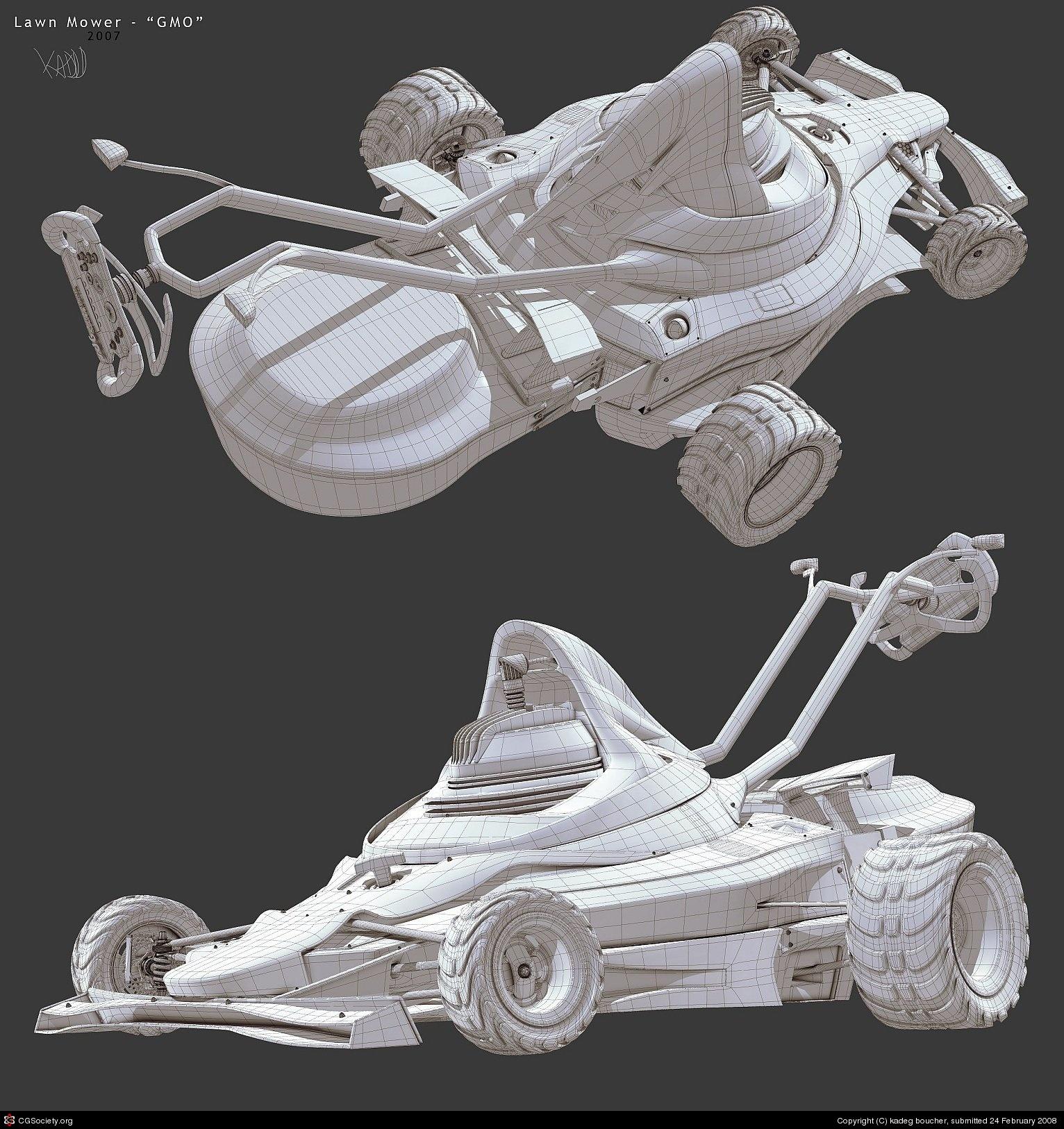 Cortacésped F1, siega como Schumacher - Imagen 16