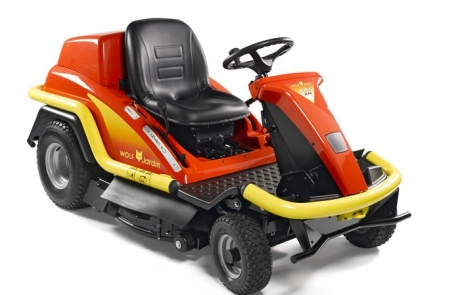 Outils WOLF - A85KM - Cortacésped con asiento Mulching 85 cm