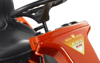 Outils WOLF - A85KM - Cortacésped con asiento Mulching 85 cm 3