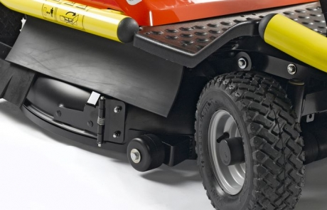 Outils WOLF - A85KM - Cortacésped con asiento Mulching 85 cm 4