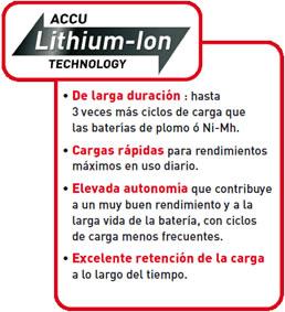 Batería Accu-Lithium-ion de los Robots cortacesped de Outils WOLF