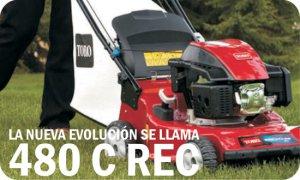 TORO Cortacesped 480 C REC