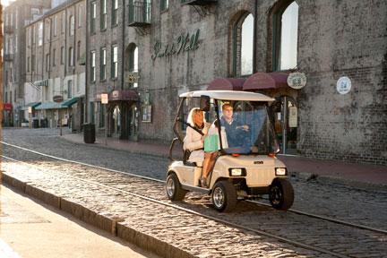 Nuevos coches eléctricos LSV de Club Car - Riversa