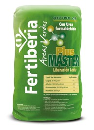 Gama de abonos para Áreas Verdes de FERTIBERIA - Plusmaster