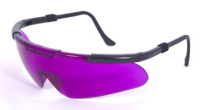 Gafas detectoras de estrés en el césped