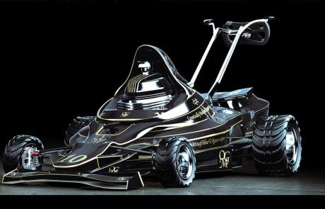 Cortacésped F1, siega como Schumacher - Imagen 1