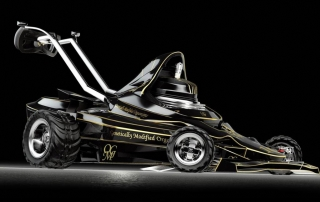 Cortacésped F1, siega como Schumacher - Imagen 3