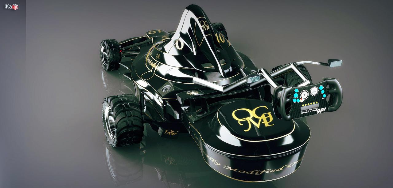Cortacésped F1, siega como Schumacher - Imagen 4