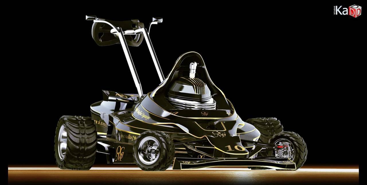 Cortacésped F1, siega como Schumacher - Imagen 6