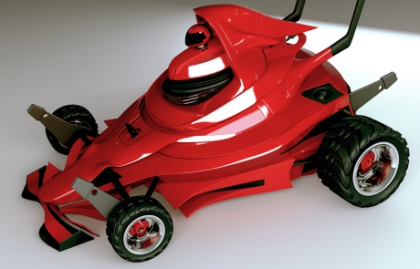 Cortacésped F1, siega como Schumacher - Imagen 8