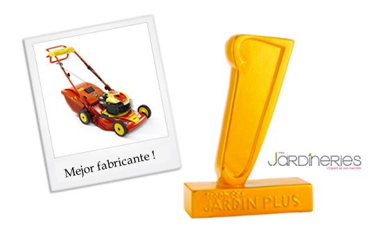 "Primer premio ""JardinPlus"" a Outils WOLF"