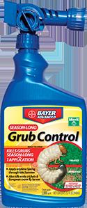 Control de gusanos de Bayer - Season Long Grub Control