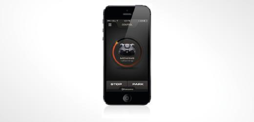 App para Automower de Husqvarna