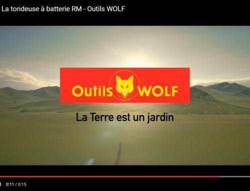 Anuncio TV del cortacésped a bateria, serie RM, de Outils WOLF