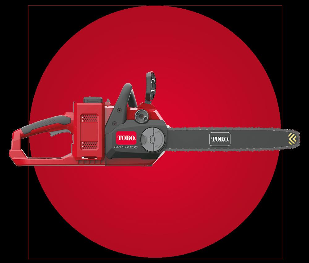 Motosierra a bateria PowerPlex de TORO